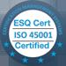 Certificat ISO 45001