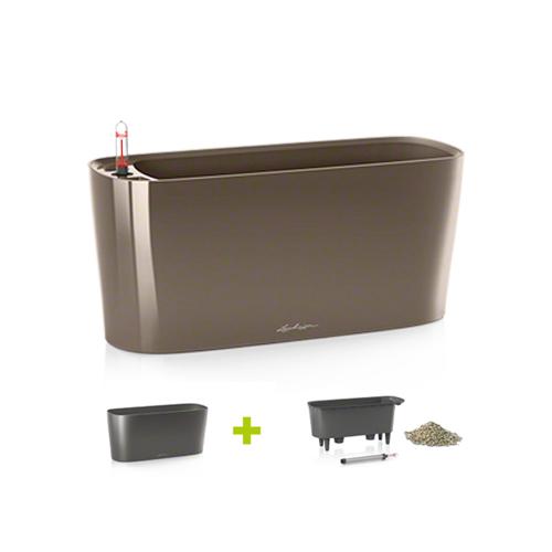 lechuza delta 40x15x18 cm set complet maro. Black Bedroom Furniture Sets. Home Design Ideas