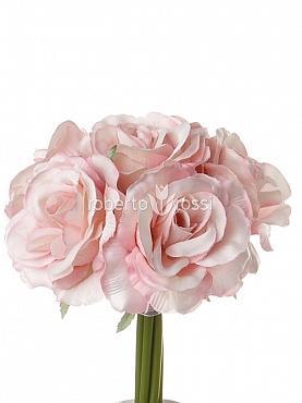 Buchet Trandafiri 20 cm roz
