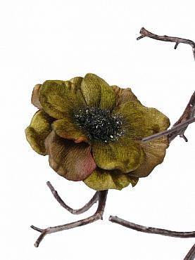 Anemone D11 cm verde