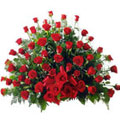 Aranjament Exclusive Red Dutch Roses Mare