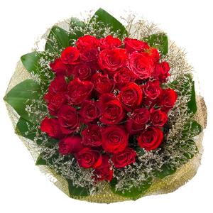 Aranjament Red Roses Mediu