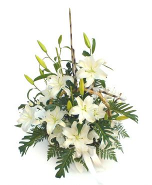 Aranjament White Flowers Mare