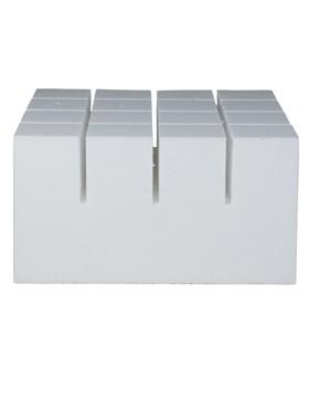 Baza polistiren 43x43x20 pentru ghiveci Lechuza Cubico 50x50x95 cm