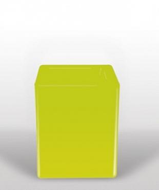 Bloom Square 40x40x50 cm verde