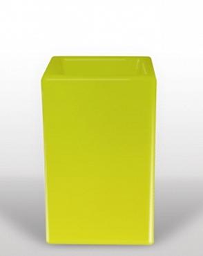 Bloom Square 50x50x80 cm verde