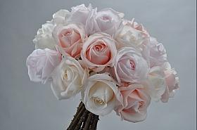 Buchet cu flori deTradandafir 40 cm DE