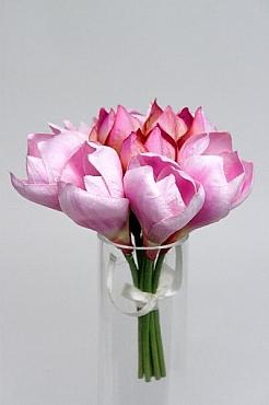 Buchet cu flori Hippeastrum HO roz