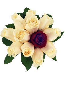 Buchet de Trandafiri Denisa Mediu
