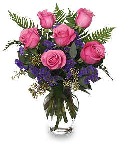 Buchet de trandafiri Pink Roses Mare