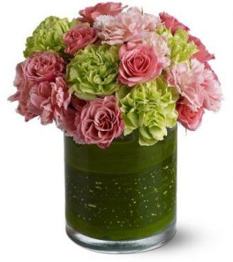 Buchet garoafe roz Delightful Day
