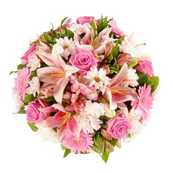 Buchet mixt Pink Lily Posy