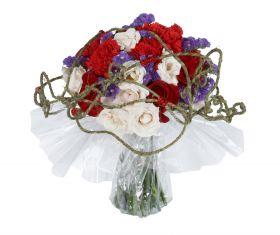 Buchet mixt Tri-color Bouquet