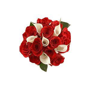 Buchet rosu Romantic Roses