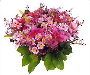 Buchet roz Pink Lilies