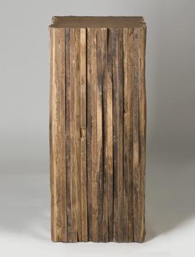Column Teak 45x45x 90 cm natural