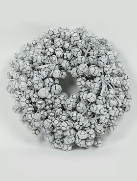 Coronita Cerine D35 cm alb