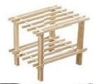 Cost suport lemn interior pentru sustinere plante in ghiveci