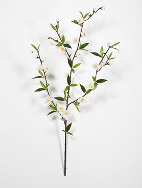 Crenguta cu flori de Cires H64 cm alb Cherry