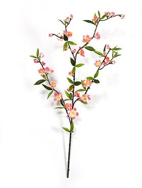 Crenguta cu flori de Cires H64 cm roz Cherry