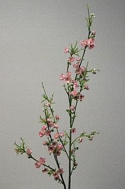 Crenguta cu flori de Prun D1,5xH95 cm HO roz Prunus