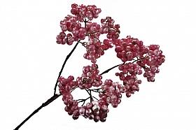 Crenguta cu fructe ce padure 41 cm roz DE