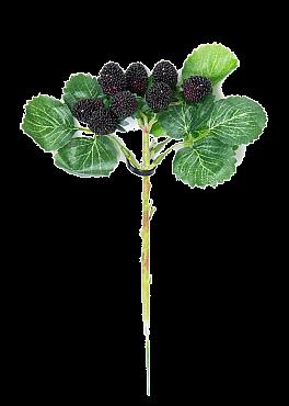 Crenguta cu Fructe de Padure 25 cm negru Berry