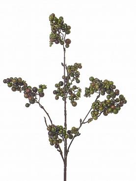 Crenguta cu Fructe de Padure H50 cm verde Berry