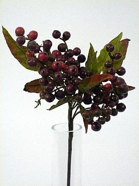 Crenguta cu Fructe de Padure HO burgundy D10xH35 Berry