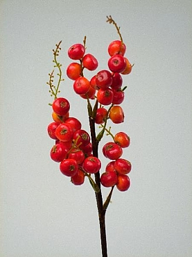 Crenguta cu Fructe de padure HO portocaliu Berry - Snowberry