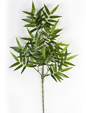 Crenguta cu frunze de Bambus Oriental 56 cm Bamboo