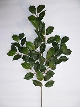 Crenguta cu frunze de Camelia 55 cm verde