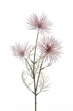 Crenguta de Anemone 63 cm roz