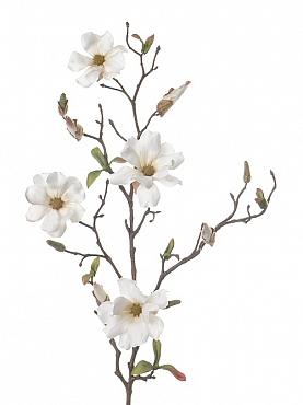 Crenguta de Magnolia 75 cm alb