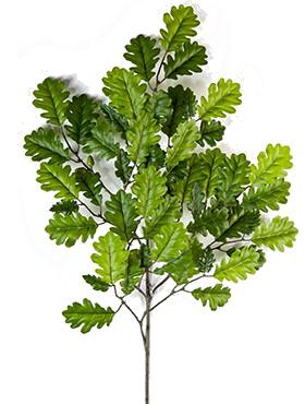 Crenguta de Stejar cu fructe 60 cm verde Oak
