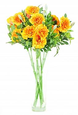 Dahlia Marigold D7x6xH50 cm HO portocaliu