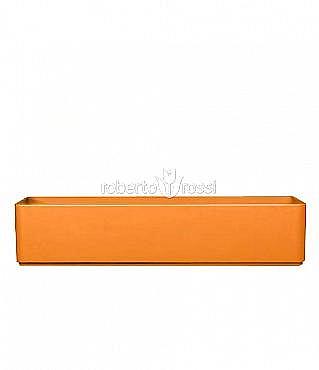 Dreptunghiular 120x35x23 cm RAL structural portocaliu