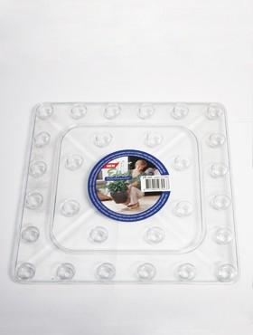 Farfurii transparente 25x25x2 cm