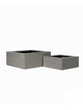 Fiberstone 45x45x20 cm,set gri