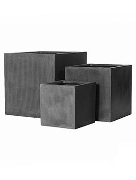 Fiberstone 60X60X60 cm,set antracit