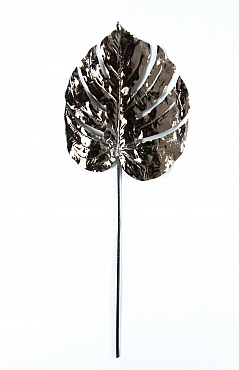 Frunza Monstera Metalic 71 cm