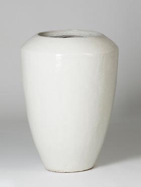 Ghiveci ceramic Coppa 50X68 cm alb
