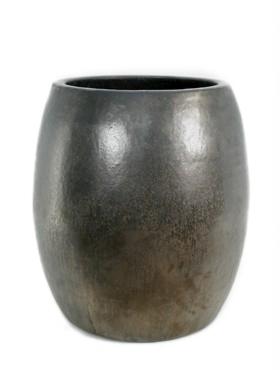 Ghiveci ceramic Duo 55x60 cm maro antichizat