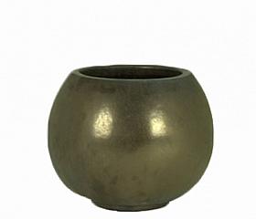 Ghiveci ceramic Globe 80x68 cm maro antichizat