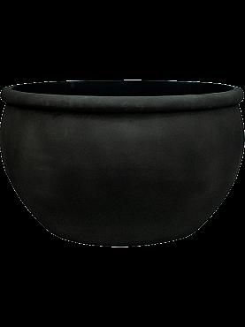 Ghiveci plante Empire (GRC) D93xH54 cm, negru
