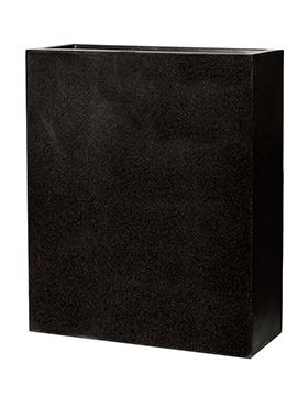 Ghiveci Wall 88x36x100 cm negru