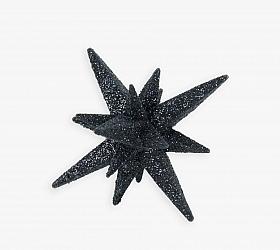 Globulet pentru Craciun -Stea 3D 7.5 cm