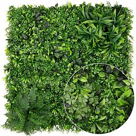 Gradina design din plante artificiale 1mp (100x100cm) V42