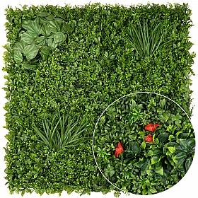 Gradina design din plante artificiale 1mp (100x100cm) V44