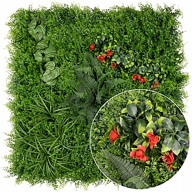 Gradina design din plante artificiale 1mp (100x100cm) V46
